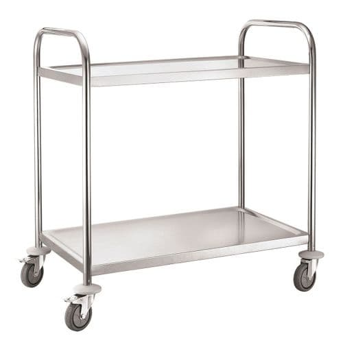 iMettos Service Trolley 2 Tier With Round Tube - 301003